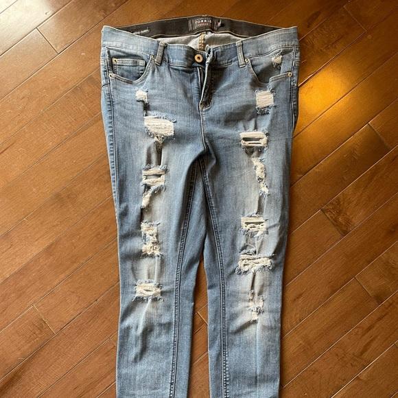 Torrid plus size Bombshell Skinny Jeans